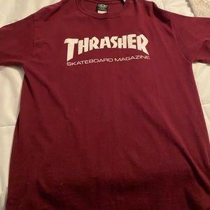Thrasher tee shirt   size large   skater